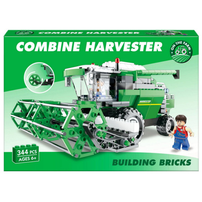 362pc Combine Harvester Brick Set