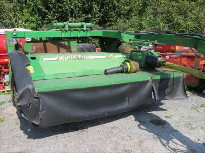2004 John Deere 1355 Trailed Mower c/w Grouper