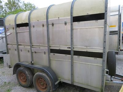 Used Wessex 10' Livestock Trailer