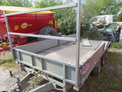 Ifor Williams LM146 Flatbed Trailer