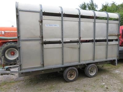 "Ifor Williams DP120 12' x 6'6"" Cow Box"