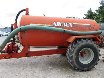 2002 Abbey 1600gl Painted Slurry Tanker