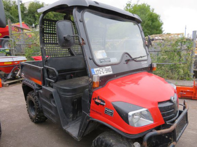2017 Kioti Mechron 2210 Utility Vehicle