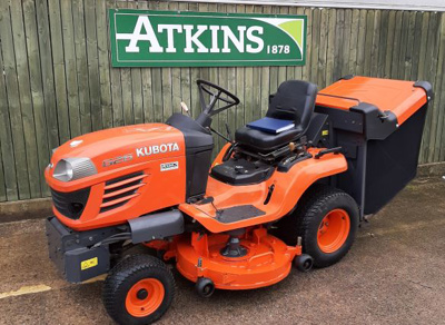 2009 Kubota G26LD Diesel Ride-on Mower