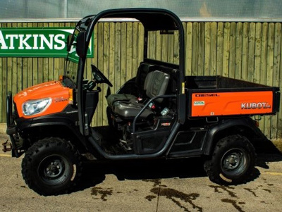 2017 Kubota RTV-x 900 Utility Vehicle