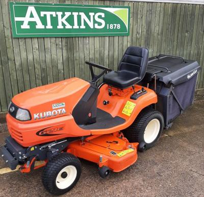 2016 Kubota G21E Diesel Ride-on Mower
