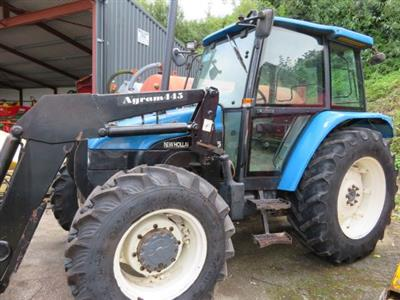1998 New Holland 7635 Tractor c/w Loader
